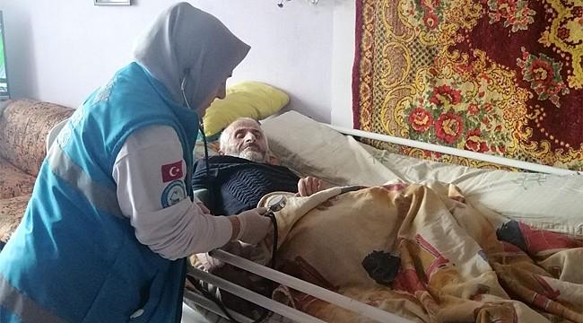 Rize'de bin 806 hasta Evde Sağlık Hizmeti alıyor