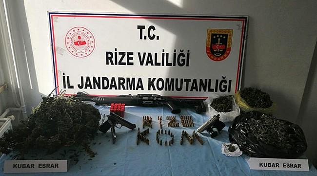 Rize Jandarması son bir ayda 26 kişiyi yakaladı
