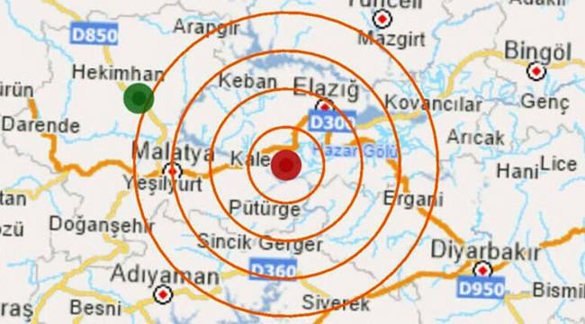 Elazığ'da 6.8 şiddetinde deprem: Ölü sayısı artıyor