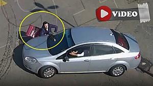 Rize'deki trafik kazaları MOBESE kameralarına yansıdı