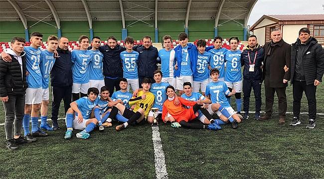 Rize U16 Ligi Şampiyonu Rize Belediyespor oldu