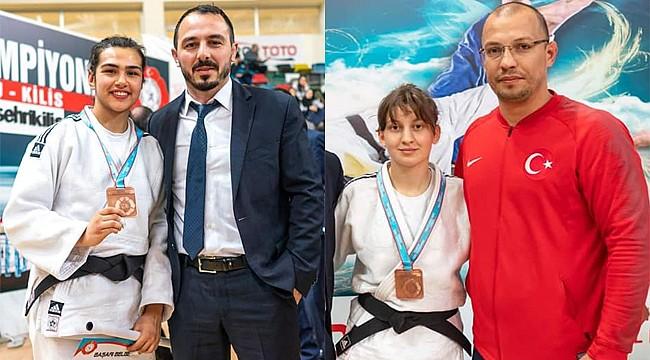 Rizeli Bayan Judocular Türkiye 3.'sü oldu