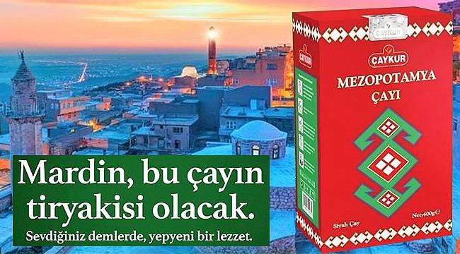 Çaykur'dan yeni Mezopotamya çayı