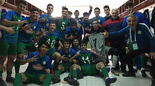 Çaykur Rizespor U17'den deplasmanda 3 puan