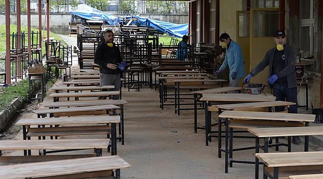 Rize İMKB Lisesi öğrencileri yarıyıl tatilinde boş durmadı