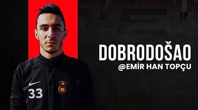 Rizesporlu Emir Han Topçu, Bosna Hersek takımında