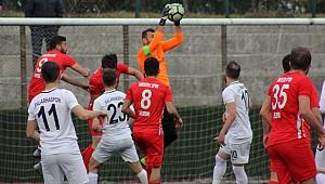 Salarhaspor seriye bağladı: 1-0