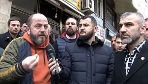 Yeniköy esnafı isyanda: İş yerlerimiz gasp edildi