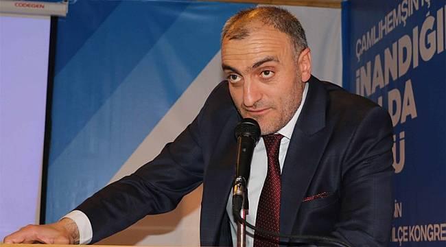 AK Parti Çamlıhemşin'de Altun yeniden başkan seçildi