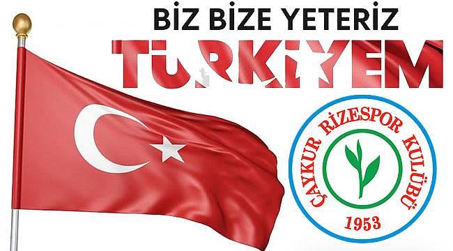 Çaykur Rizespor ve Hasan Kartal'dan kampanyaya destek