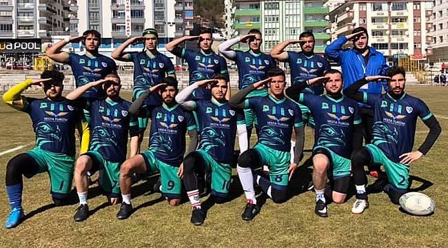 Güneysuspor Ragbi Takımından büyük başarı