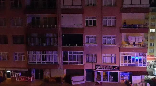 Rize'de 11 katlı bina tahliye edildi