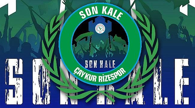 Rizespor Taraftar Grubu Son Kale'den 'Evde Kal' çağrısı