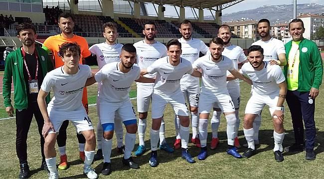 Salarhaspor, Erzincan deplasmanından 1 puanla döndü