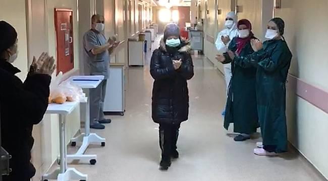 Rize'de virüsü yenen 85 kişi taburcu edildi