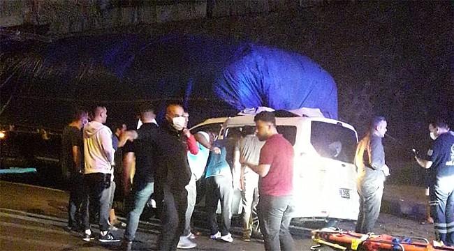 Araklı'da feci kaza: 4 kişi öldü