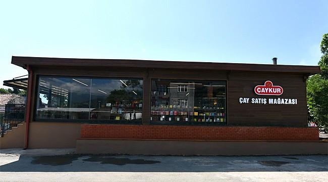 Çaykur'un Kemalpaşa Çay Satış Mağazası açıldı