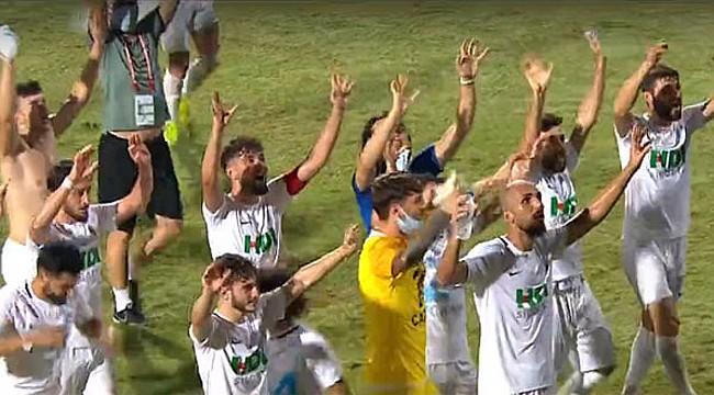 Pazarspor 4 yıl sonra yeniden 2. Lig'de