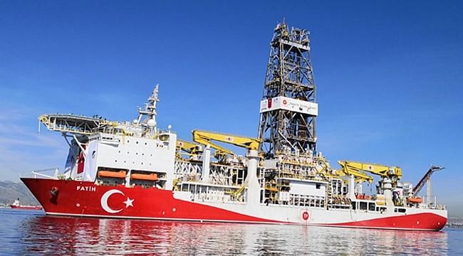 Fatih Sondaj Gemisi doğalgaz buldu