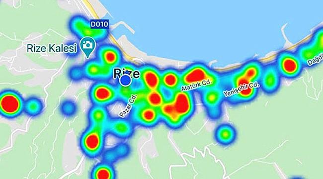 Rize'de mahalle ve ilçelerin koronavirüs sayıları açıklandı