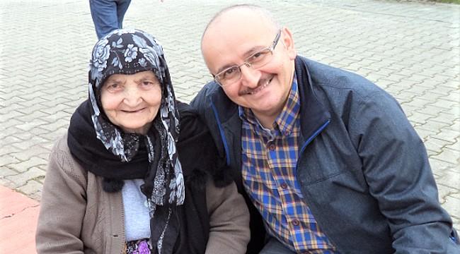 Gazeteci Bayram Ali Kavalcı'nın anne acısı
