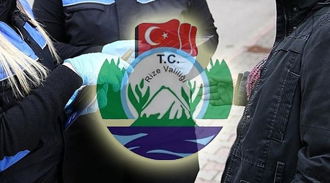 Rize'de kurallara uymayan 109 kişiye ceza kesildi