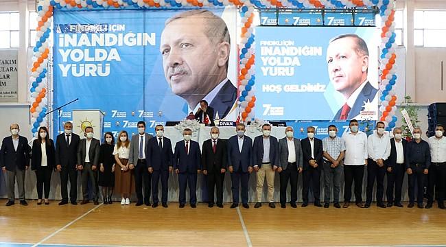 AK Parti'de Çayeli ve Fındıklı ilçe kongreleri yapıldı