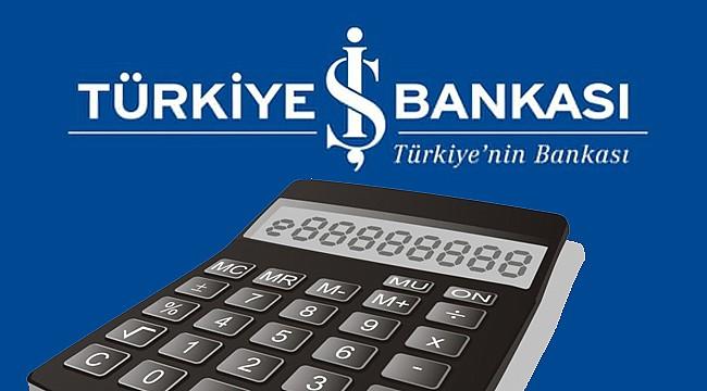 İş Bankası Bireysel Kredi Hesaplama
