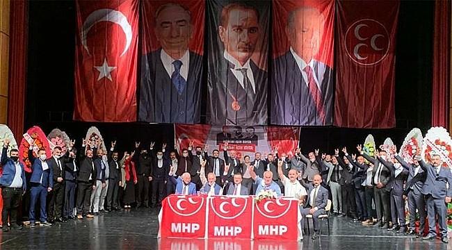MHP Rize Merkez İlçe'de Cerrah yeniden Başkan
