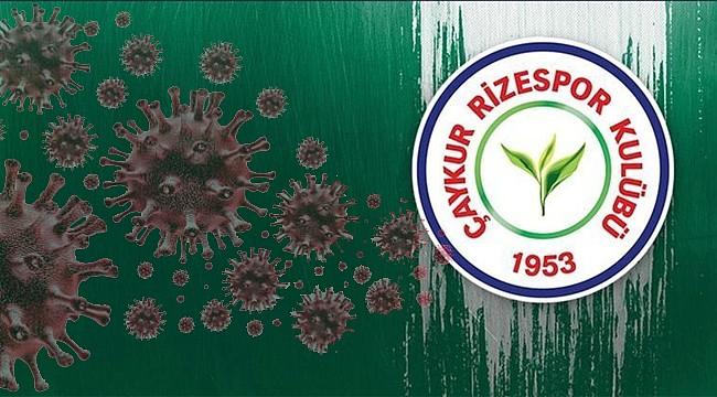 Çaykur Rizespor'da 3 futbolcuya koronavirüs teşhisi