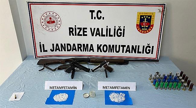 Kalkandere'de uyuşturucu operasyonu