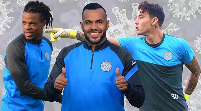 Remy, Andrade ve Zafer pozitif çıktı