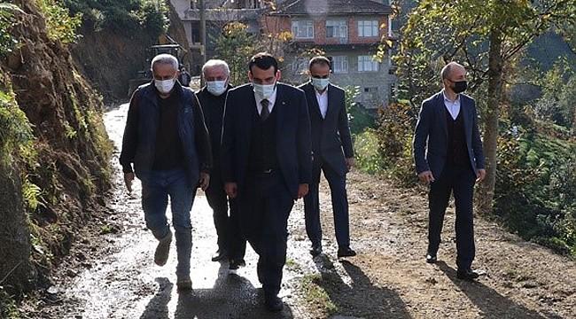 AK Parti Merkez İlçe, köy ziyaretleriyle sahaya indi