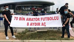 Amatör Futbol Mağdurları çözüm bekliyor