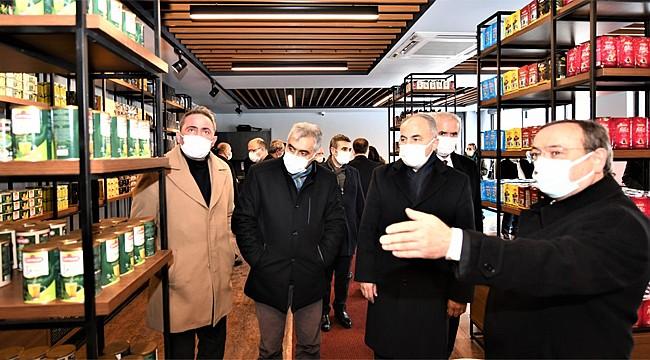 Çaykur Erzurum'da Çay Satış Mağazası açtı