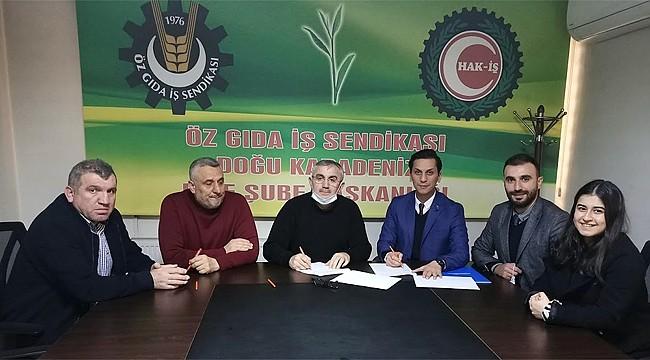 Öz Gıda-İş ile Katılımevim Rize Şubesi arasında indirim anlaşması