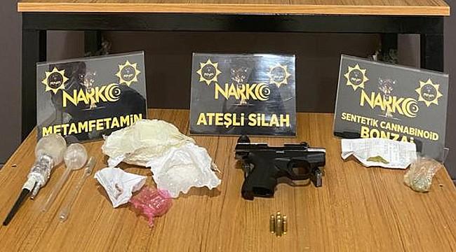 Rize'de uyuşturucu operasyonu: 3 kişi yakalandı