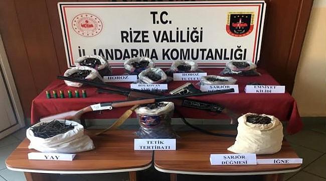 Rize Jandarması 1 ayda 232 kişiyi yakaladı