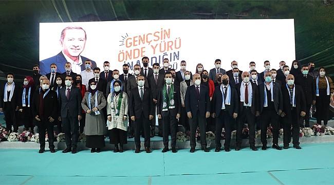 AK Parti Rize Gençlik Kolları'nda Kadir Ali Çelik yeniden Başkan