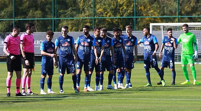 Çaykur Rizespor, hazırlık maçında Başakşehir'i 1-0 yendi