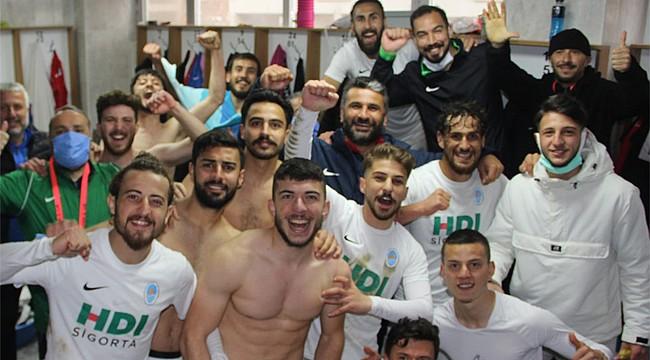 Pazarspor 9 maç sonra 3 puanı farklı aldı