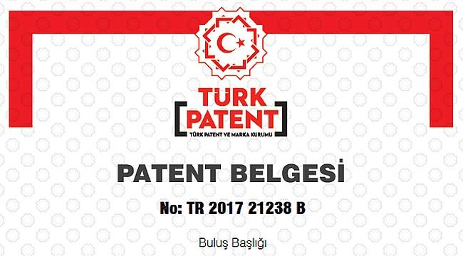 RTEÜ'nün bir buluşu daha patent aldı