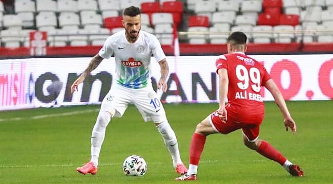 Çaykur Rizespor'dan 3 golle 3 puan