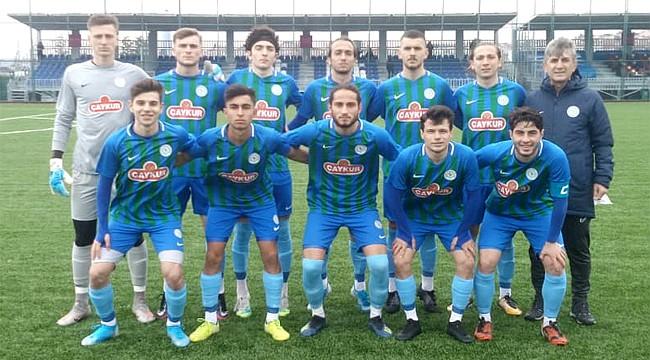Çaykur Rizespor U19, Trabzon'dan yenik döndü
