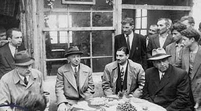 Eski Cumhurbaşkanı İsmet İnönü'nün Rize ziyaretleri