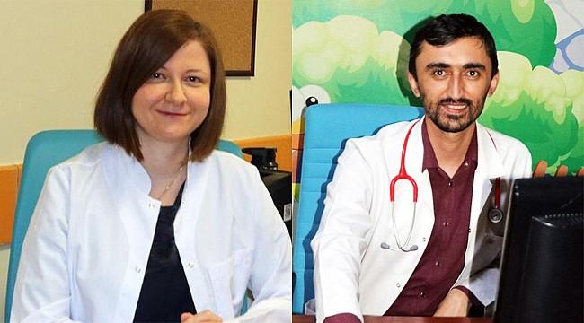 Rize'ye atanan Çocuk Nöroloji ve Çocuk Kardiyoloji uzmanları görevlerine başladı