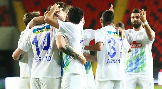 Gaziantep'te gol yağmurlu galibiyet