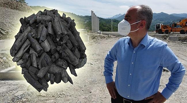 Rize Belediyesi'nin Mangal Kömürü için talepler gelmeye başladı