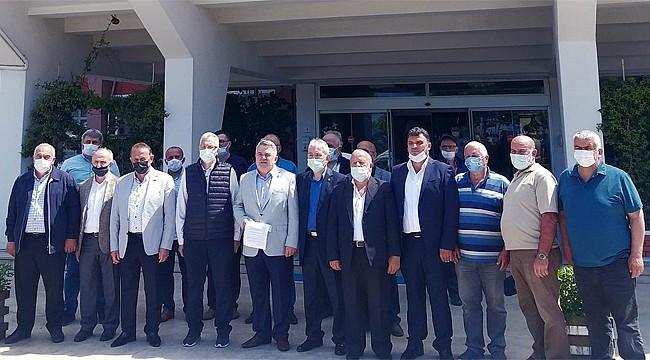 Rize'deki Ziraat Odalarından Çaykur'a destek