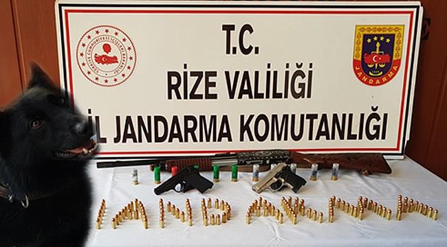 Rize Jandarması bir ayda 279 kişi yakaladı